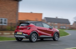Renault Captur, rear action 2